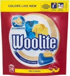 Woolite Kapsułki Mix Colors do prania z keratyną 28szt.