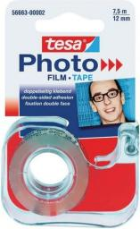 Tesa Taśma klejąca dwustronna FOTO z dyspenserem 12mm x 7,5m (TES097)