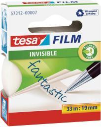Tesa Taśma klejąca INVISIBLE 19mmx10m