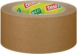 Tesa Taśma klejąca papierowa ecoLogo 50mmx50m, brązowy