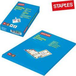 Staples STAPLES Folia do laminacji  błyszcząca A4 (216x303 mm) 2x250 mic. , opakowanie 100 szt.