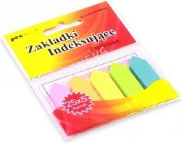 Polsirhurt Zakładki indeksujące ZI-01 papierowe 5x25 12mmx45mm