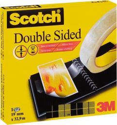 Taśma biurowa dwustronna scotch 665 19mmx32,9m.(3m-7001607279)