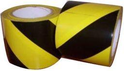 Dalpo Taśma ostrzegawcza 48mm/33m czarno-żółta