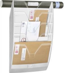 CEP Kieszeń na dokumenty Mailroom wisząca A4, 5 kieszeni, przezroczysty
