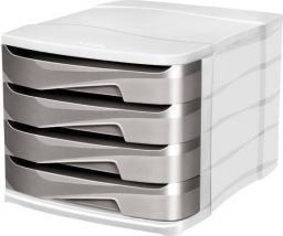 CEP Pojemnik Isis Metallic z szufladami, 4 szuflady