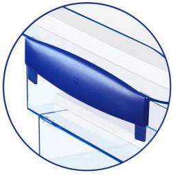 CEP Dyspenser do półek ICE niebieski, 2 sztuki (CEP110)