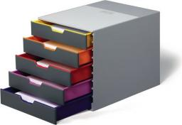 Durable Pojemnik VARICOLOR z pięcioma szufladami (DUR201)