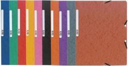 Exacompta Folder kartonowy z gumką NATURE FUTURE 400g A4 czarny (EXC354)