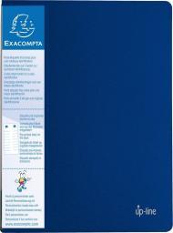 Exacompta Album ofertowy UP LINE, 20 koszulek, niebieski