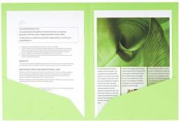 Exacompta Folder kartonowy z dwoma kieszeniami A4 mix kolorów, 25 sztuk (EXC270)