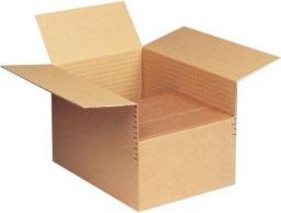 Staples Karton zatrzaskowy 1-warstwowy A4 brązowy, 20 sztuk