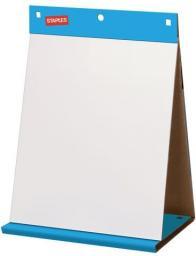 Flipchart Staples Flipchart stołowy samoprzylepny 585x500mm, 20 kartek (C74608)