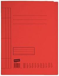 Skoroszyt Staples kartonowy A4, czerwony
