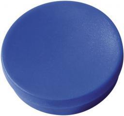 Flipchart Staples Magnesy do tablic magnetycznych 30mm, niebieski, opakowanie 10 sztuk (C61101)