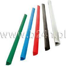 Titanum Grzbiety do bindownic Titanum A4 czerwony, 10CZER, (86145)
