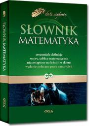 Słownik matematyka (oprawa twarda)