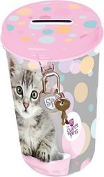 Beniamin Skarbonka metalowa The sweet pets - kot