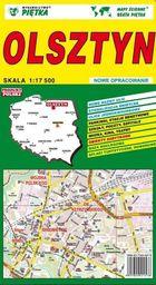 Plan miasta Olsztyn