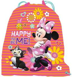 Beniamin Worek na gimnastykę Minnie Mouse