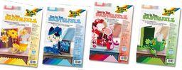 FOLIA Filc dekoracyjny 20/30 niebieski mix 1.5 mm (FO 5204-93)