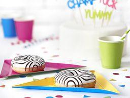 Party Deco Talerzyk potworki mix kolorów 19,5x23,5x23,5