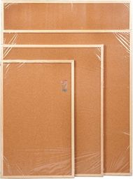 Cetus Bis Tablica korkowa 60 cm x 90 cm w ramie drewnianej (CET69)