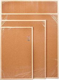 Cetus Bis Tablica korkowa 50 cm x 70 cm w ramie drewnianej (CET57)