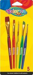 Patio Colorino Pędzle szkolne Colorino 5 sztuk (32599)