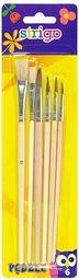 Pukka Pad Pędzle drewniane 6 sztuk blister SSC031