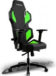 Fotel Quersus Evos 302  Czarno-zielony
