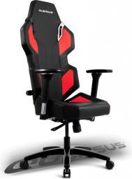 Fotel Quersus Evos 302 Czarno-czerwony