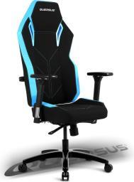 Fotel Quersus VAOS 501 (Czarno-Niebieski)