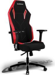 Fotel Quersus VAOS 501 (Czarno-Czerwony)