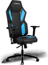 Fotel Quersus Vaos 502 Czarno-niebieski