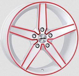 Autec DELAN White Red 8x18 5x112 ET35