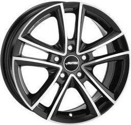 Autec YUCON Black Polished 7x16 5x100 ET40