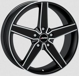 Autec DELAN Matt Black Polished 8.5x20 5x112 ET42
