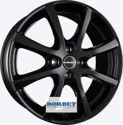 Borbet LV4 Black 6.5x15 4x100 ET35