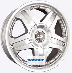 Borbet CWB Silver 8x18 6x139.7 ET35