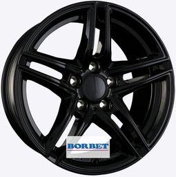 Borbet XR Black 7.5x16 5x112 ET45