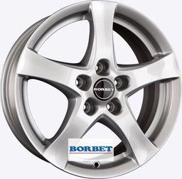 Borbet F Silver 6.5x16 5x105 ET38