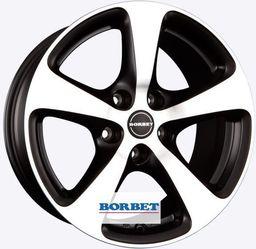 Borbet DESIGN CC Matt Black Polished 8.5x18 5x130 ET50