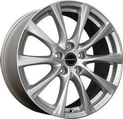 Borbet T1 Silver 6.5x16 5x115 ET40