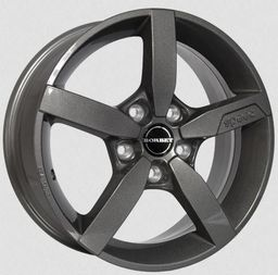 Borbet T1 Metal Grey 6.5x16 5x114.3 ET40