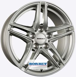 Borbet XR Silver 7.5x16 5x112 ET45