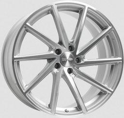 Felga Brock B37C Silver Polished 9.5x20 5x120 ET37
