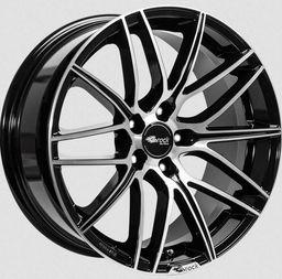 Felga Brock B34 Black Polished 8x18 5x120 ET30