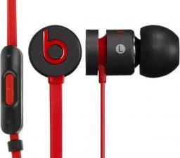 Słuchawki Beats urBeats by dr.Dre czarno-czerwone
