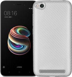 Beline Etui Carbon Fiber Xiaomi Redmi 5A srebrn y/silver